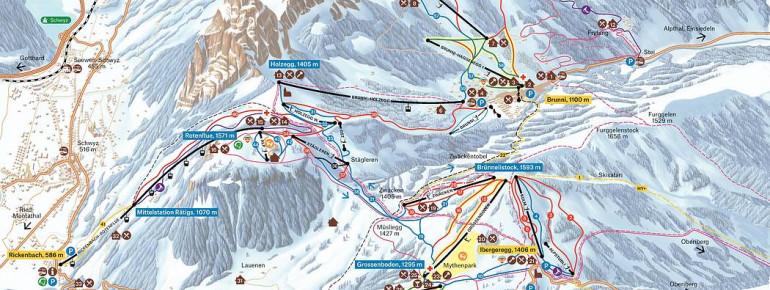 Trail Map Mythenregion