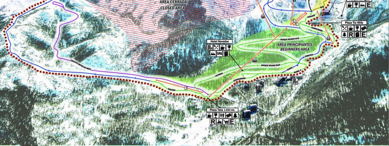 Loipenplan Termas de Chillán