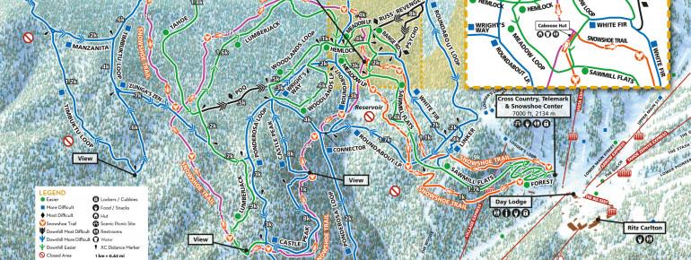 Trail Map Northstar