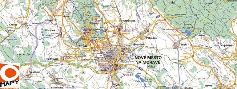 Trail Map Nové Město