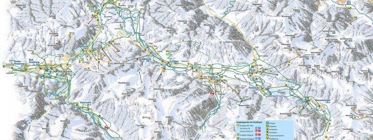 Trail Map Oberjoch Bad Hindelang