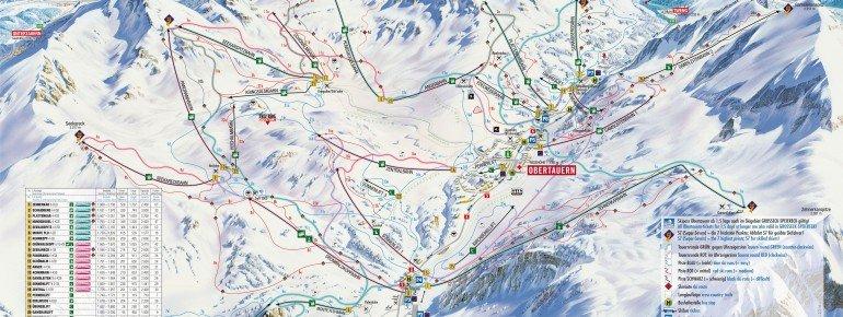 Loipenplan Obertauern