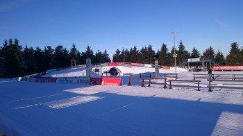 Das Langlaufzentrum am Fichtelberg