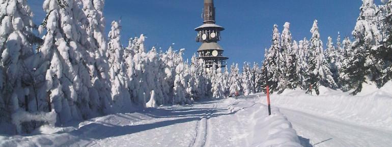 Der Ochsenkopf ist der zweithöchste Berg im Fichtelgebirge.