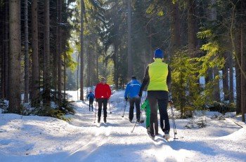 Langlauf am Wagenthal
