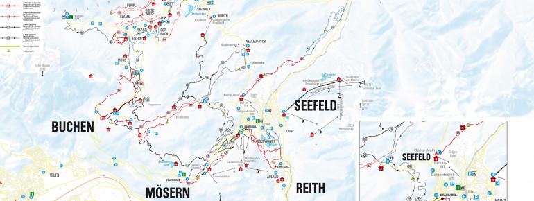 Loipenplan Olympiaregion Seefeld