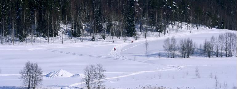Loipenplan Oslo - Holmenkollen