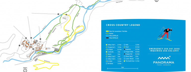 Trail Map Panorama Mountain Village