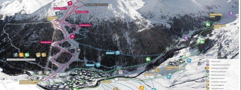 Trail Map Pfelders