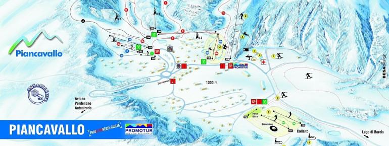 Trail Map Piancavallo