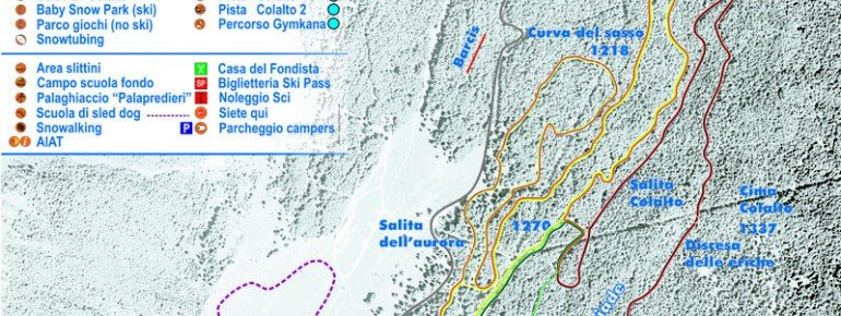 Loipenplan Piancavallo