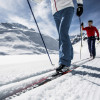 Am Pitztaler Gletscher können Langläufer die rund 6 Kilometer lange Höhenloipe erkunden.