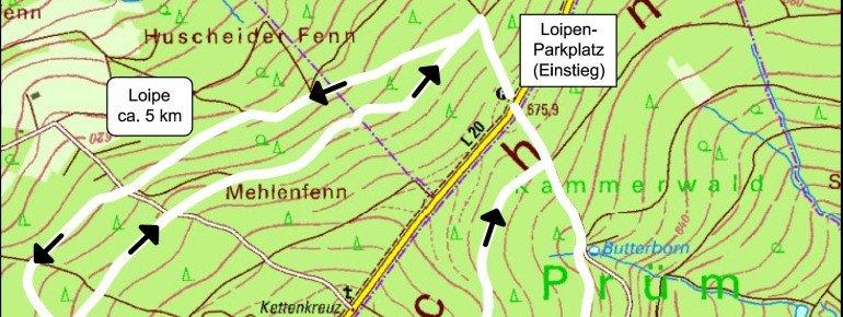 Trail Map Prüm Schwarzer Mann