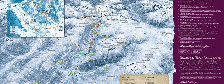 Trail Map Rauris Valley