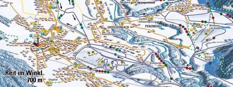 Trail Map Reit im Winkl