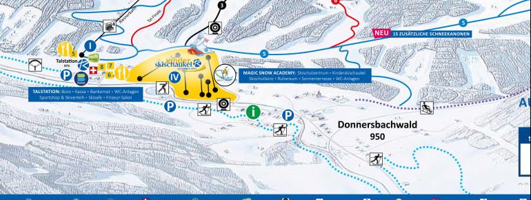 Trail Map Riesneralm