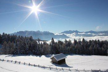 Eine traumhafte Landschaft und tolle Loipen erwarten die Wintersportler am Rittner Horn.