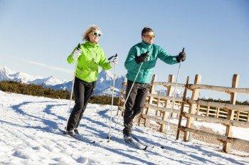 Eine der schönsten Loipen des Landes ist die Panoramahöhenloipe am Rittner Horn.