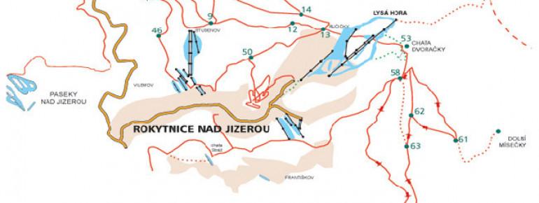 Trail Map Rokytnice n Jizerou