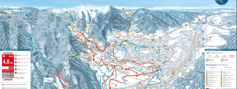Trail Map Ruhpolding
