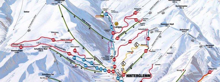 Trail Map Saalbach Hinterglemm Leogang