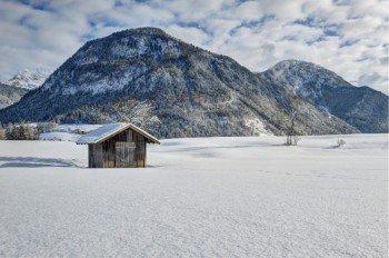 Langlauf-Idylle im Salzburger Saalachtal