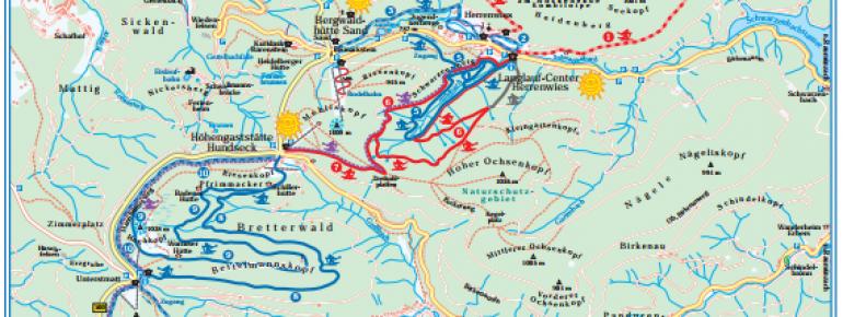 Trail Map Schwarzwaldhochstraße