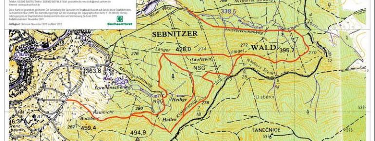 Loipenplan Sebnitz