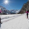 Mehr als 200 Loipenkilometer führen durch das UNESCO-Welterbe der Sextner Dolomiten.