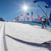 Die Nordic Arena in Toblach ist Austragungsstätte internationaler Weltcuprennen.