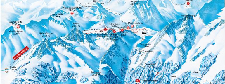 Trail Map Silvretta-Bielerhöhe