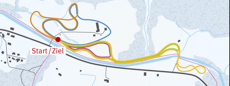 Loipenplan Alpthal