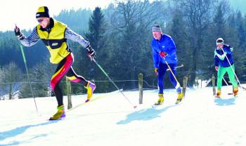 Die Loipen in der Snow World Züschen sind überwiegend mittelschwer.