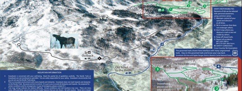 Trail Map Snowbasin