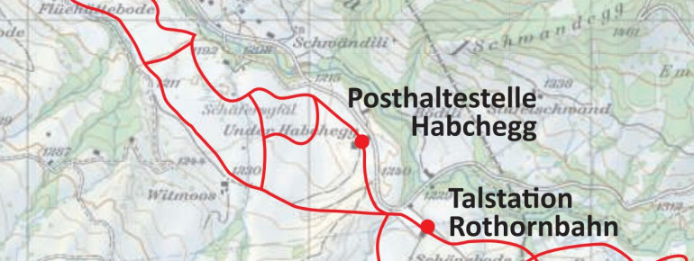 Loipenplan Sörenberg