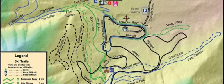 Trail Map Soldier Hollow