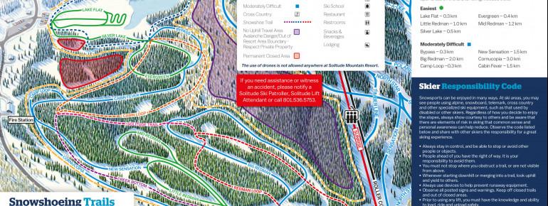 Trail Map Solitude Nordic Center