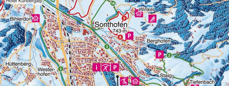 Trail Map Sonthofen