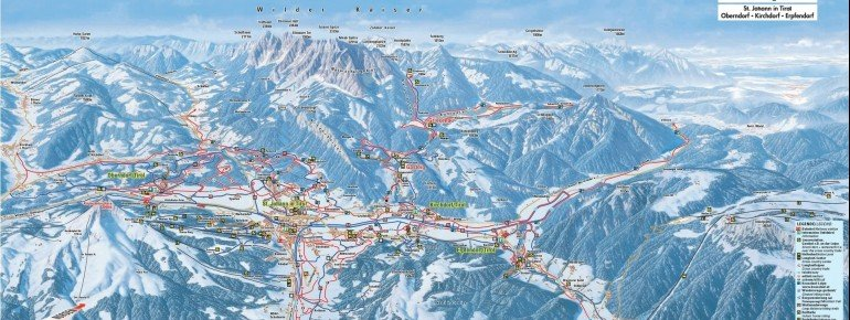 Trail Map St Johann in Tirol