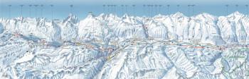 Loipenplan St. Moritz (Engadin Nord)