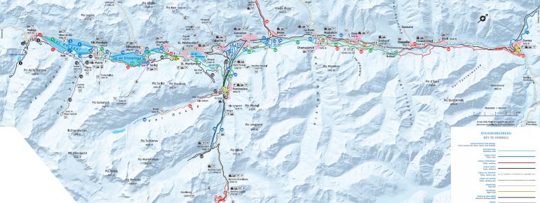 CrossCountry Skiing St Moritz Engadin Nordic skiing Tracks