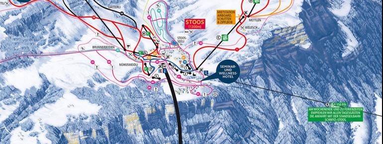 Cross Country Skiing Stoos Nordic Skiing Tracks