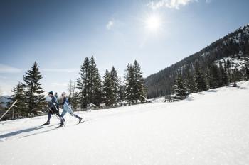 62 Loipenkilometer durchziehen das Stubaital und laden zum genussvollen Langlaufen ein.