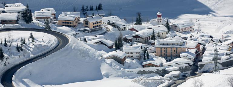Loipenplan Stuben am Arlberg