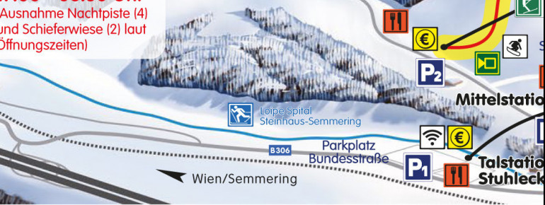 Trail Map Stuhleck Semmering