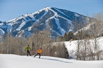 Enjoy the view from the trails of Sun Valley Nordic Center