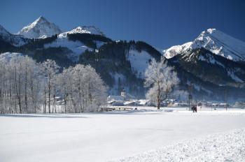 Das Tannheimer Tal ist ein schneesicheres Hochtal.