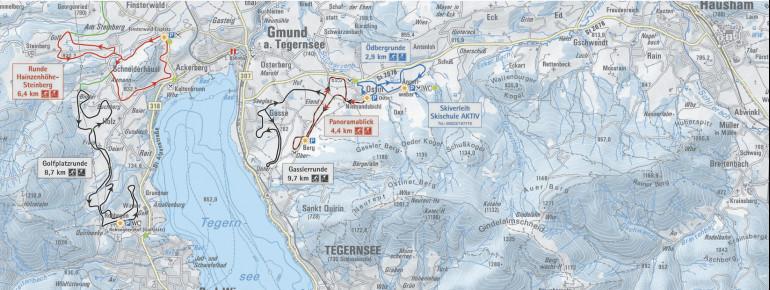 Trail Map Tegernsee
