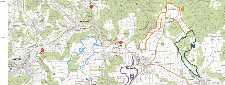 Trail Map Treffelhausen