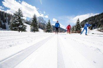 Nordisches Wintersportvergnügen in Gröden